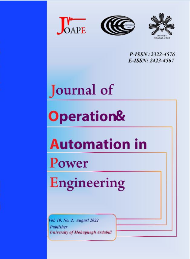 Journal of Operation and Automation in Power Engineering